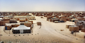 A Sahrawi refugee camp near Tindouf, Algeria, Tindouf © 2007 Alfredo Caliz/Panos