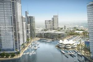Rendering of the Wessal Casa Port Project, Courtesy Wessal Capital