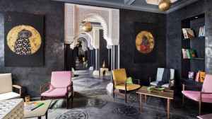Lounge, Riad Goloboy Marrakech (c) Frederic Ducout