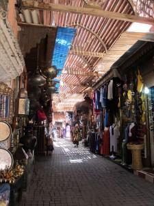 Marrakech souks (c) Rooksana Hossenally