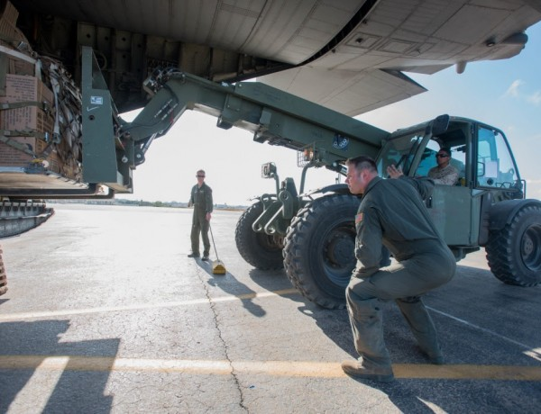 Kentucky Air Guard Trains With Troops From 11 Nations In Morocco For African Lion