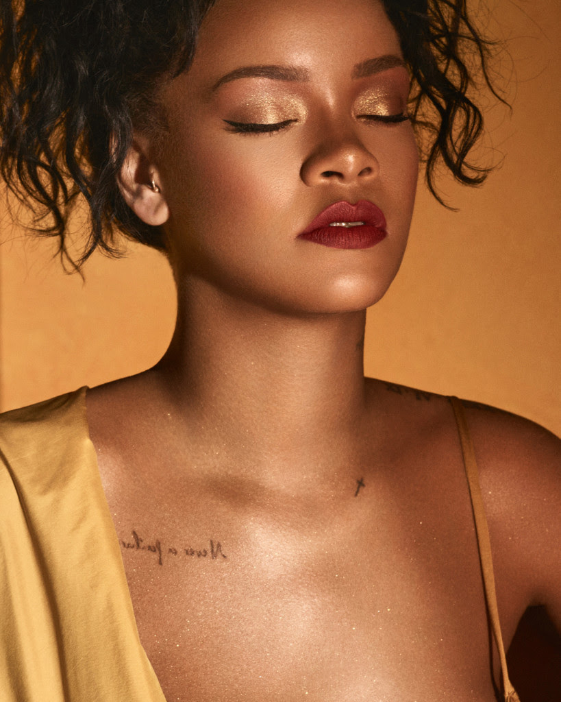 All The Details On Rihannas Fenty Beauty Moroccan Spice Eye Makeup