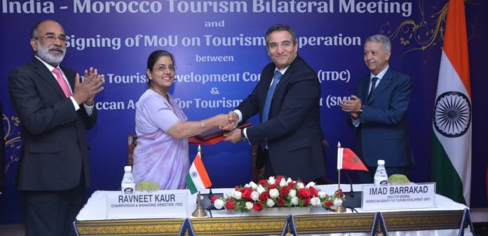 ITDC Inks MoU with Morocco for Strengthening Cooperation in Tourism